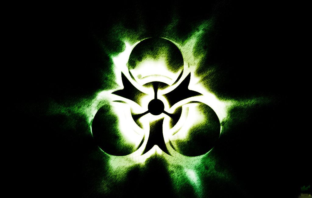 Green Biohazard Wallpaper by GraphicBrony 1024x649