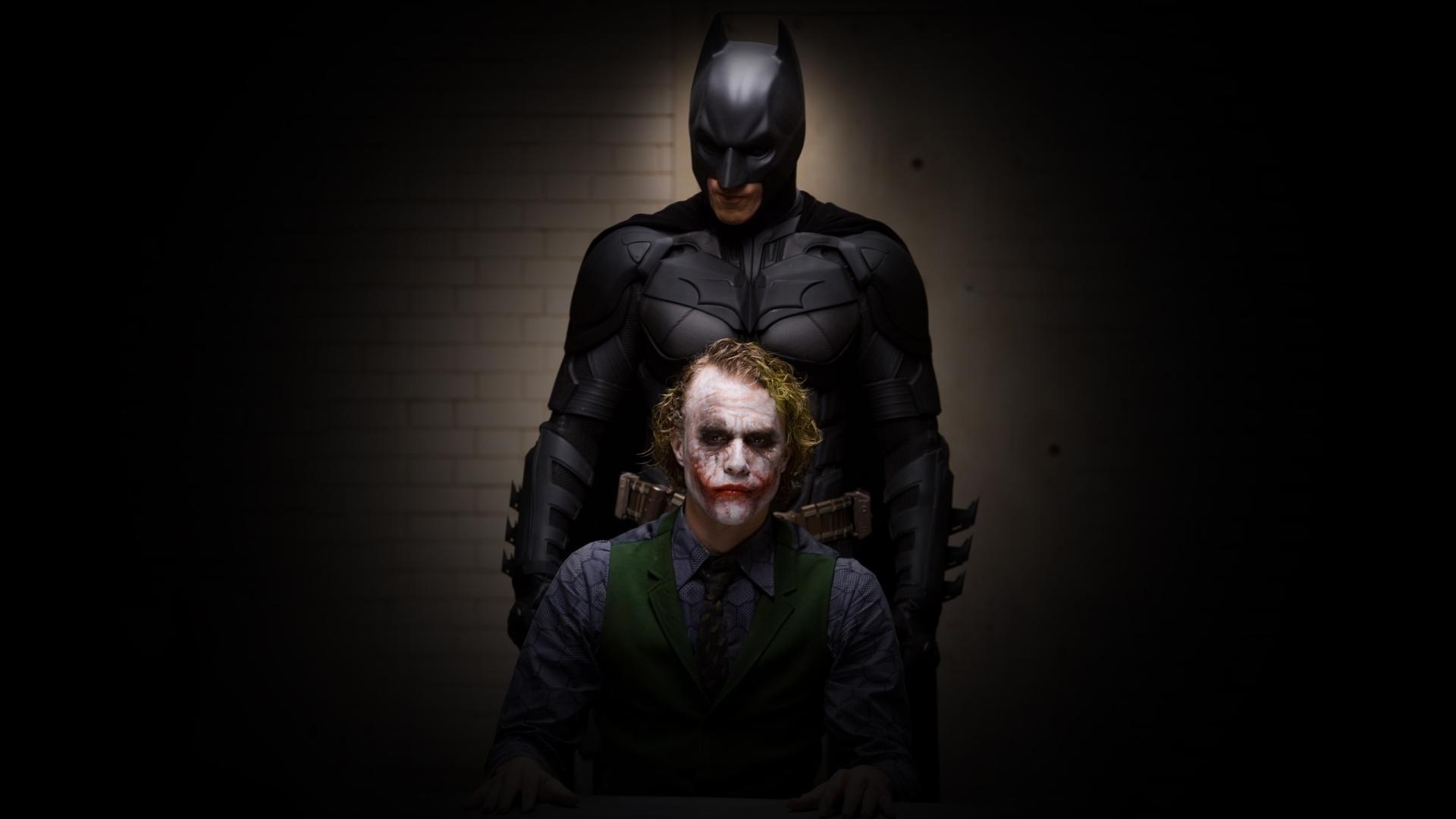 Batman Joker Dark Knight Wallpaper Images amp Pictures   Becuo 1920x1080