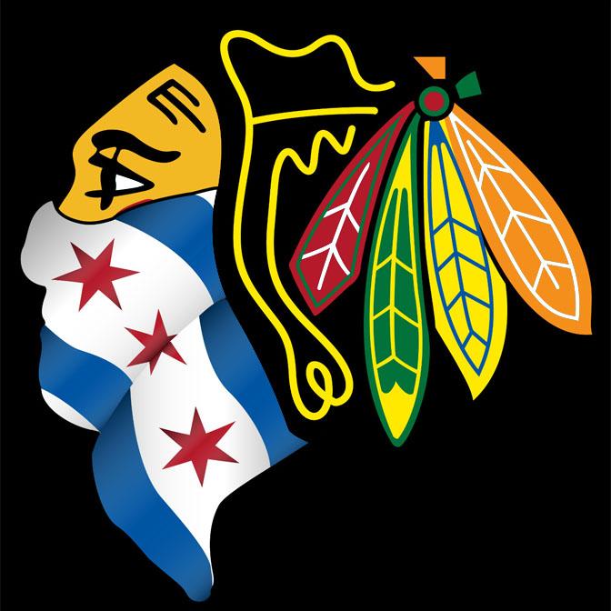 Chicago flag wallpaper wallpapersafari chicago bulls logo with bandana blackhawks chicago flag 672x672 voltagebd Gallery