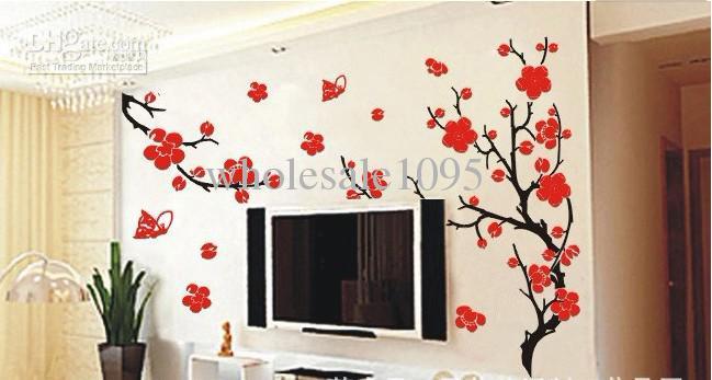 buy decorative wall paper plum blossom decorative wall paper plum 649x347