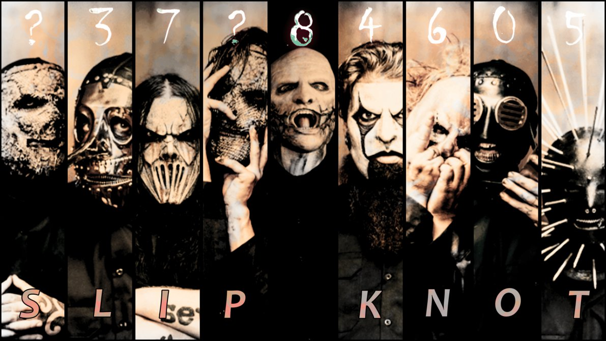 Slipknot Vol 5 Inside The Nine Wallpaper 4K by BaloohGN on 1191x670