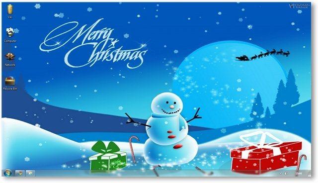 Windows 7 Themes Christmas Theme For Windows [Holiday Themes] 640x368