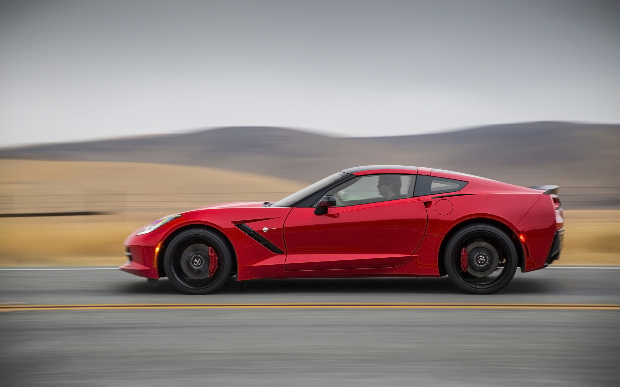 Chevrolet Corvette Stingray Side desktop wallpaper WallpaperPixel 2560x1600