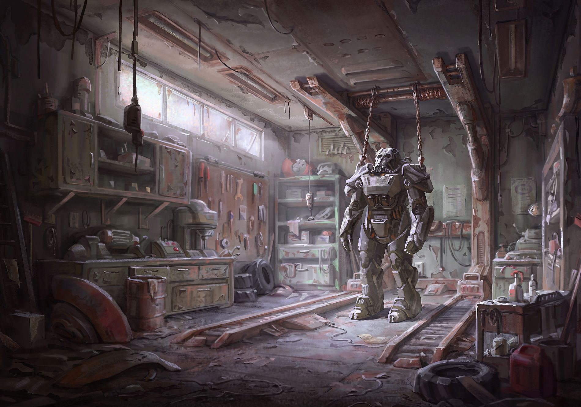 Fallout 4s concept art is wallpaper worthy Polygon 1900x1330