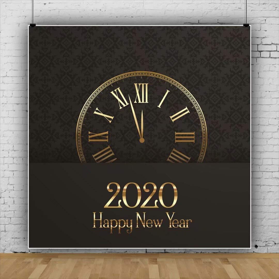 Amazoncom OFILA Polyester Fabric 2020 New Year Party Background 1080x1080