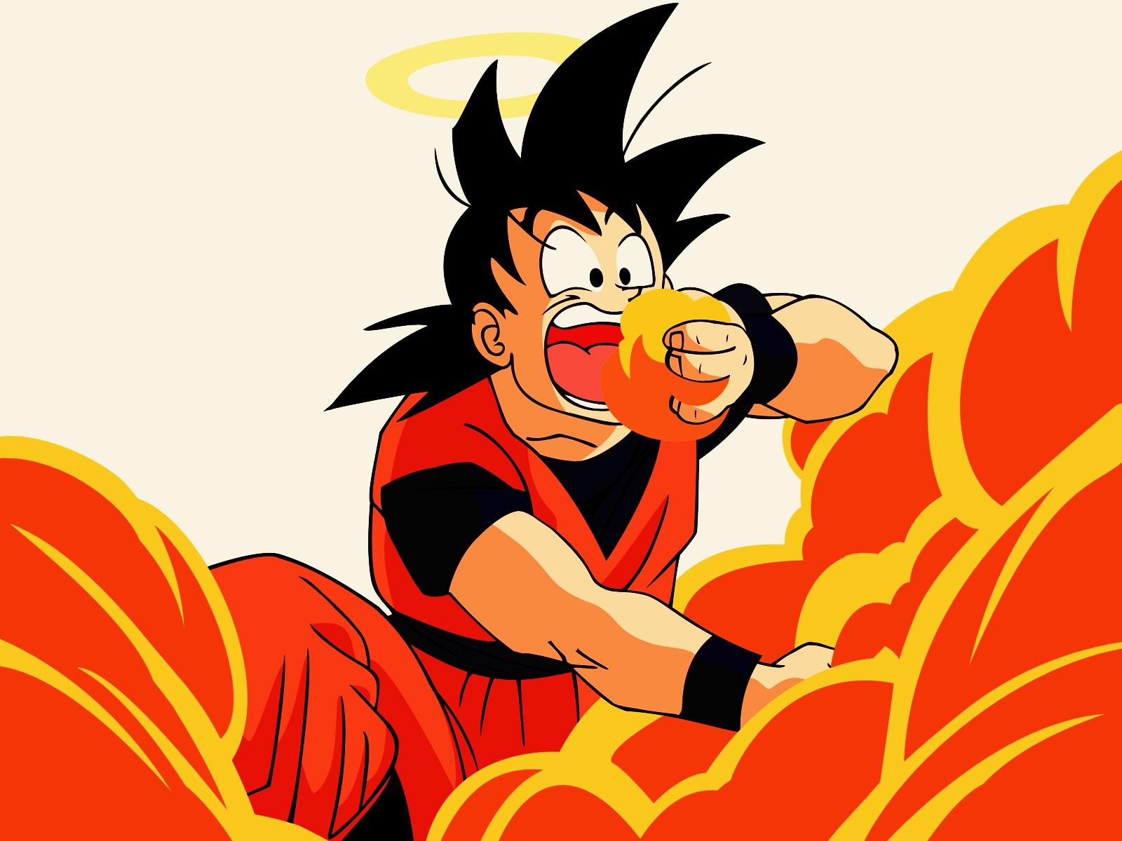 Son Goku Wallpaper 1600x1200 Son Goku Dragon Ball Z 1600x1200