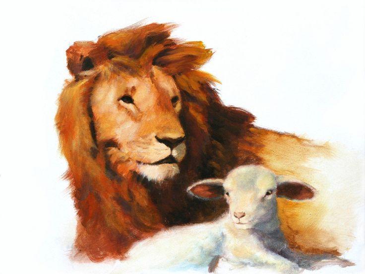Lion And Lamb Wallpaper Wallpapersafari