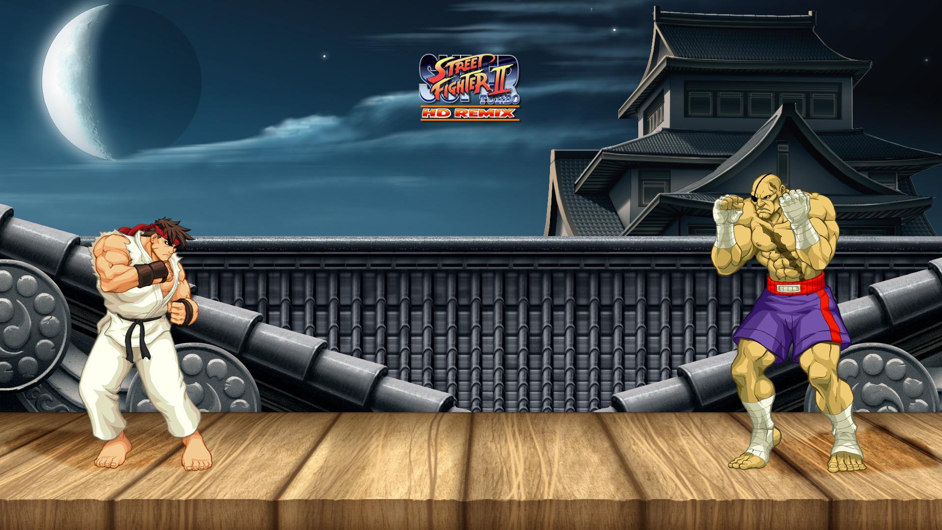 Free Download Ryu Vs Sagat Street Fighter Ii Wallpaper 5576
