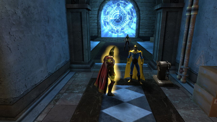 DCUO   Dr Fate leads Helios into Limbo by itstrue718 on 900x506