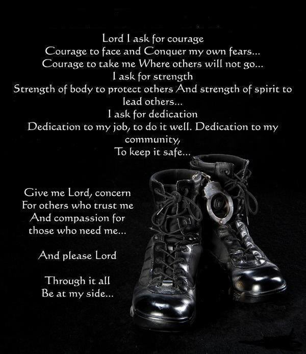 CORRECTIONAL OFFICER PRAYER Graphics Code CORRECTIONAL OFFICER 600x694