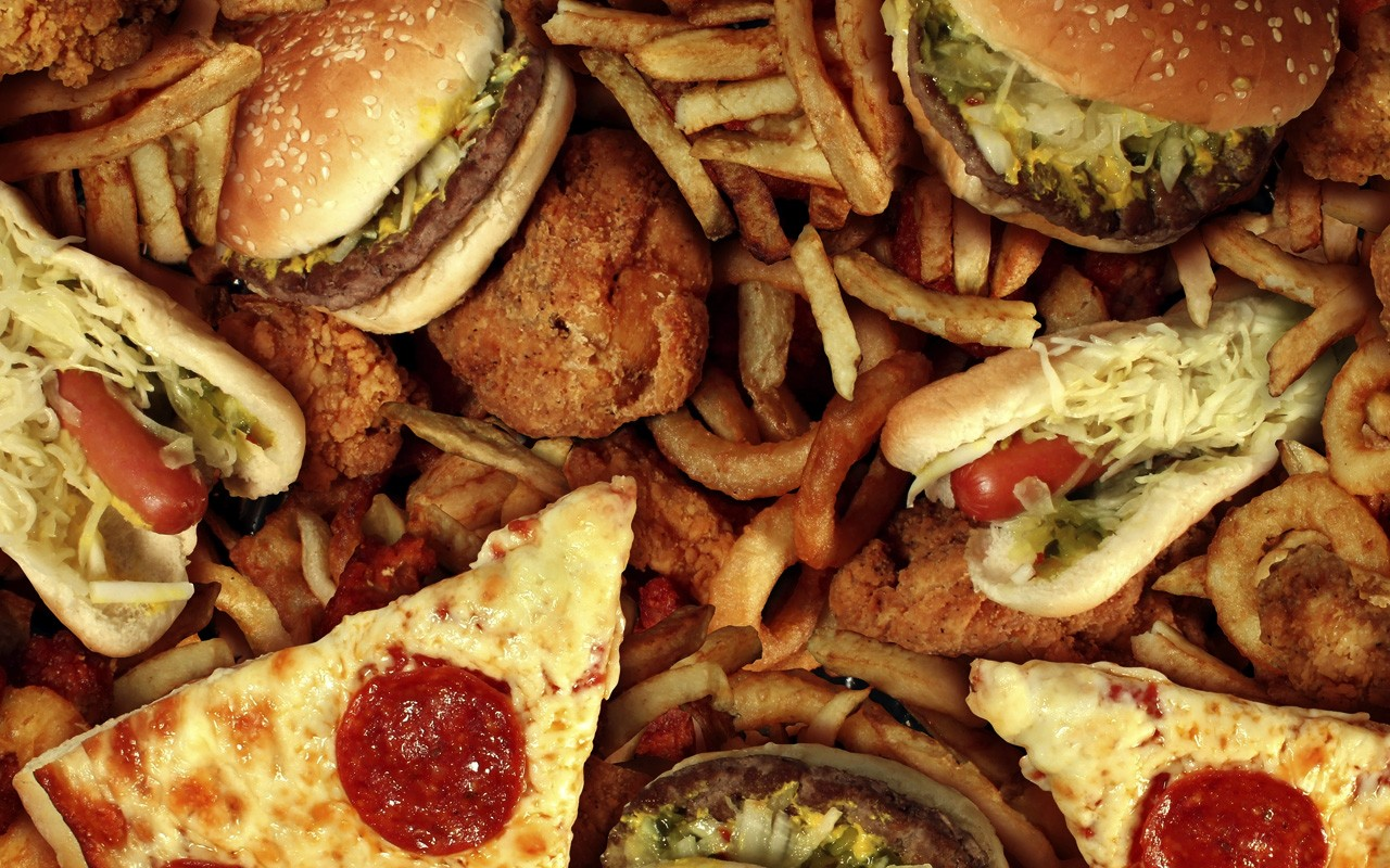 Best 40 Junk Food Wallpaper on HipWallpaper Food Wallpapers 1280x800