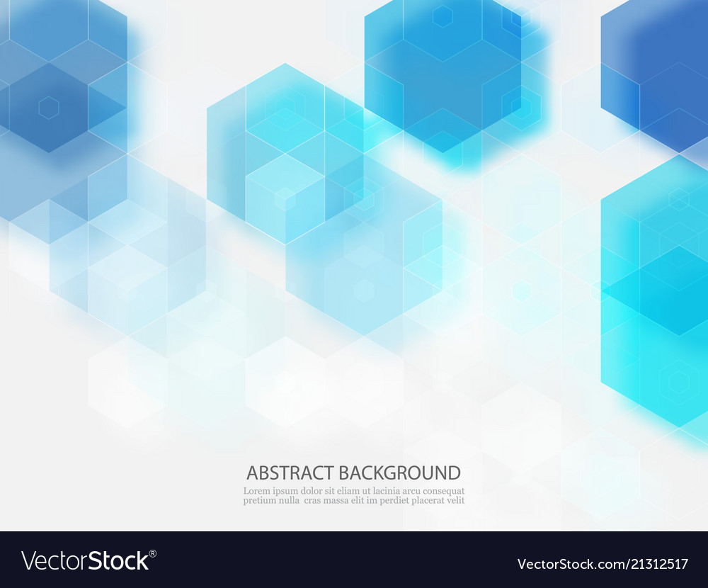 Abstract geometric background template brochure Vector Image 1000x830