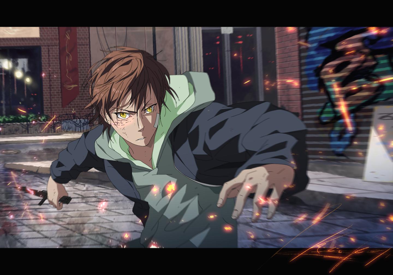 anime fighting wallpaper