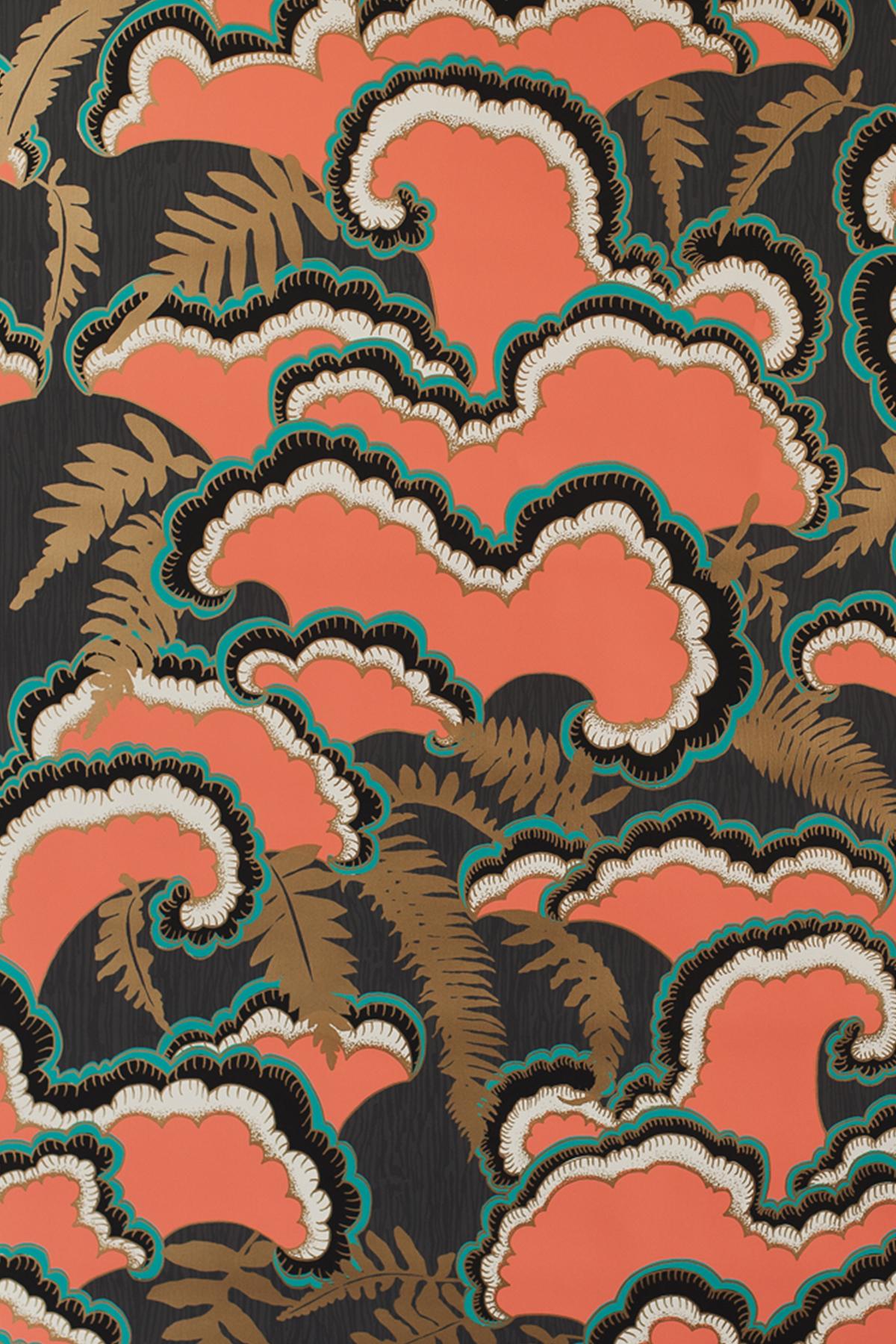 Lush Wallpaper   Red Monument Interiors 1200x1800