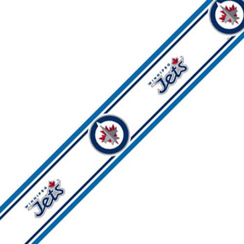 Trademarx Wall Decor   NHL Winnipeg Jets Self Stick Hockey Wall Border 500x500