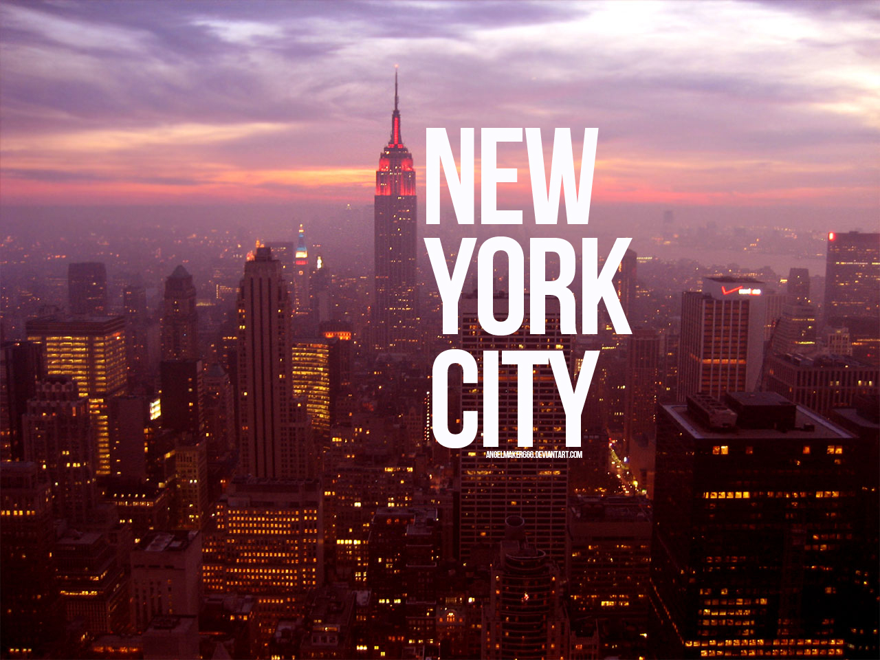 New York City Wallpaper by IshaanMishra 1280x960