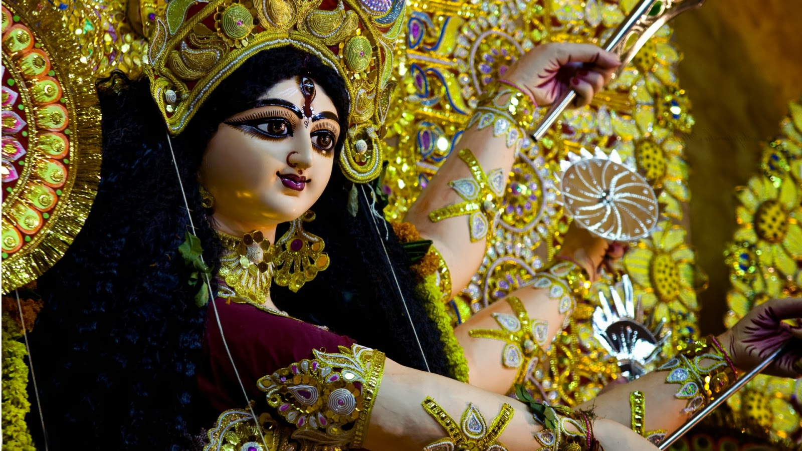 Maa Durga Images And Wallpapers Lovely QuotesDialouge Lyrics 1600x900