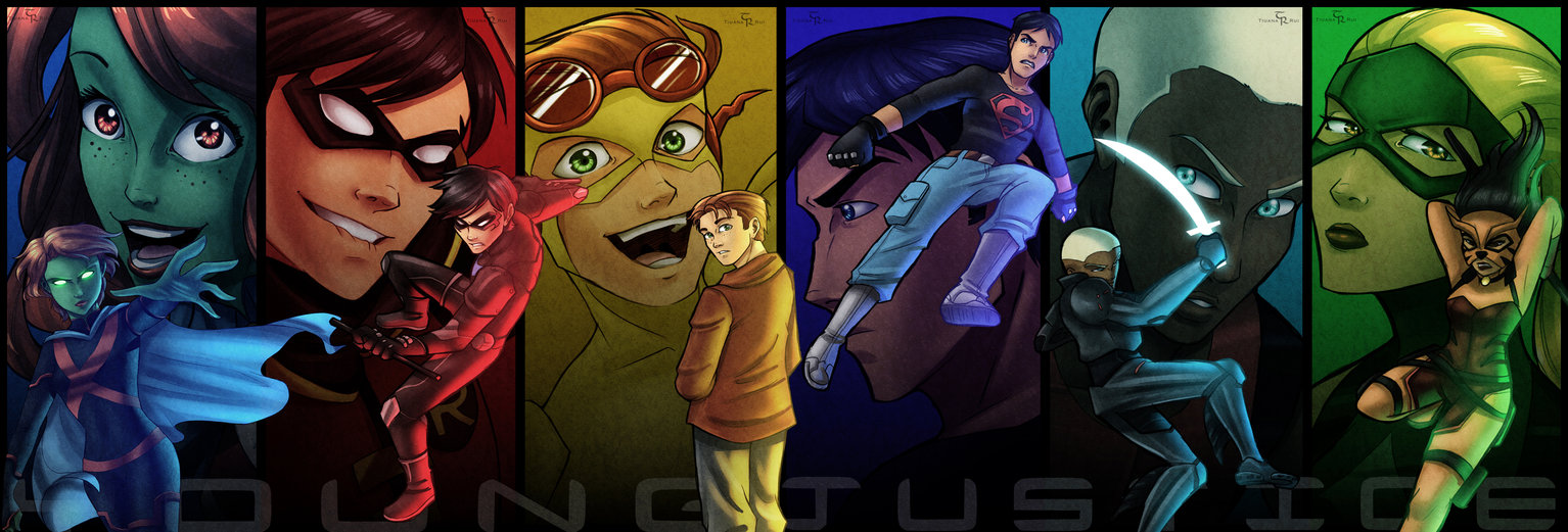 Young Justice images the team wallpaper photos 33410434 1534x521