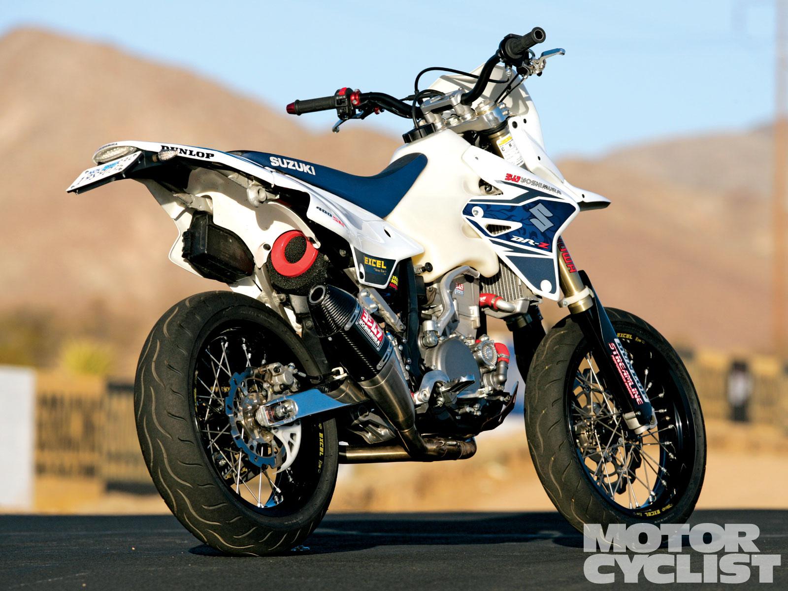 Yoshimura Suzuki DR Z450SM   The 12 Bikes Of XXXMAS Motorcyclist 1600x1200