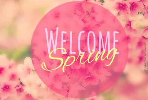 Best Collection of Welcome Spring Images Pictures and 500x337
