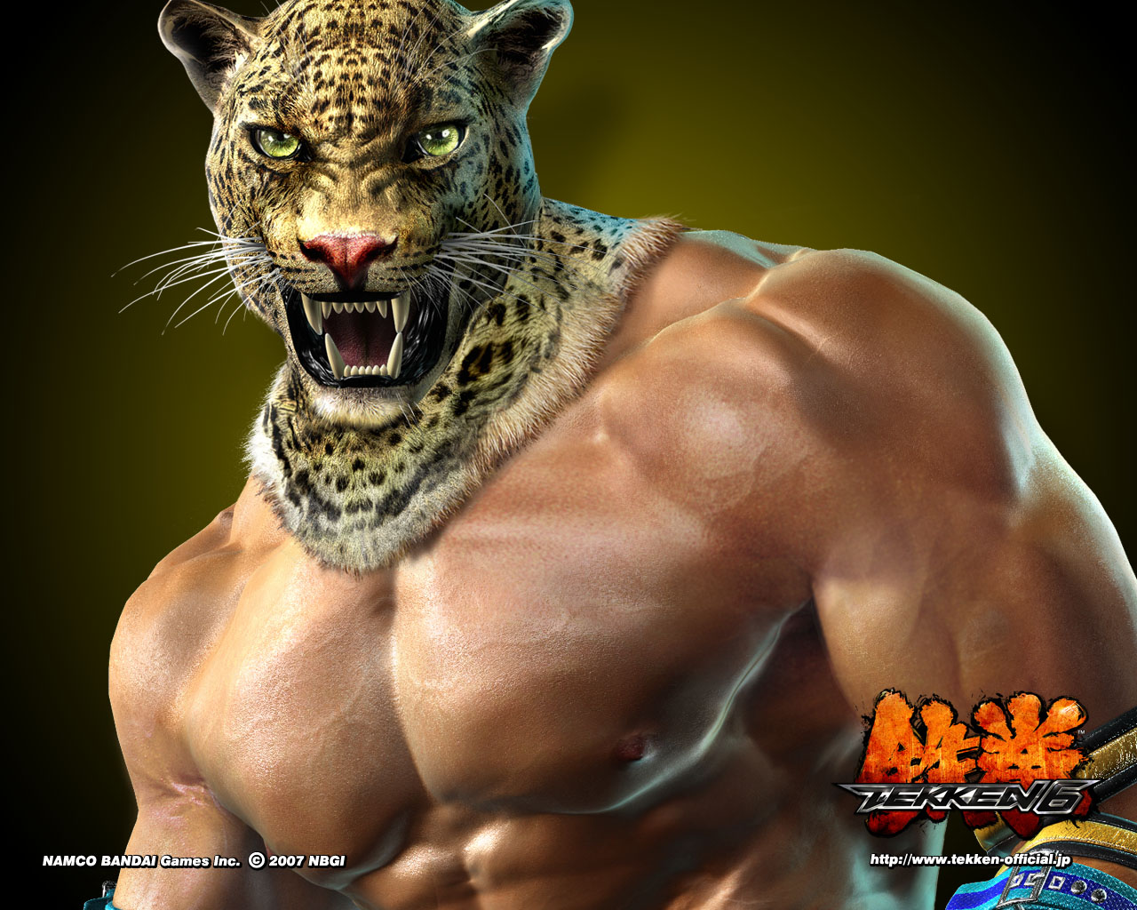 King Tekken 6 Wallpapers HD Wallpapers 1280x1024