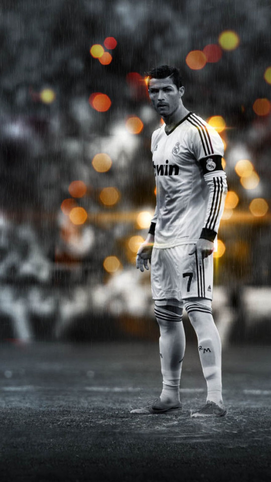 Good Cristiano Ronaldo In The Rain Wallpaper IPhone Wallpapers 540x960