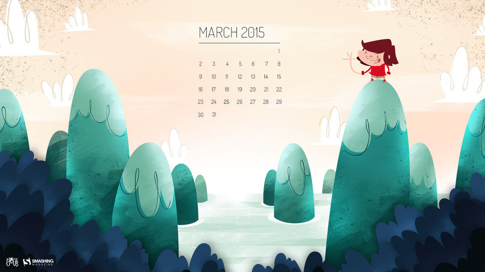 Desktop Wallpaper Calendars March 2015 Smashing Magazine 1000x562
