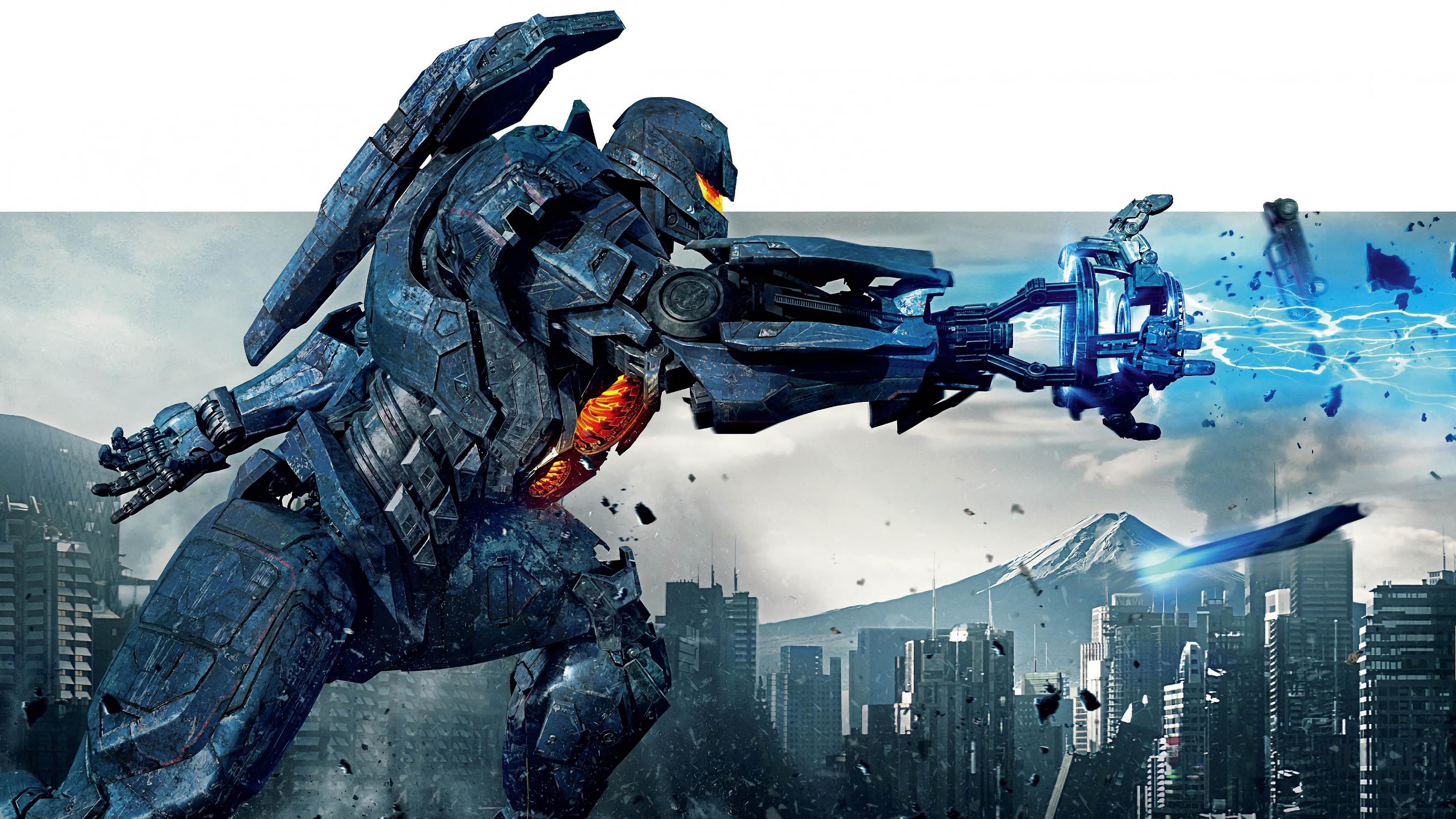 Gipsy Avenger 4K 8K HD Pacific Rim Wallpaper 3840x2160