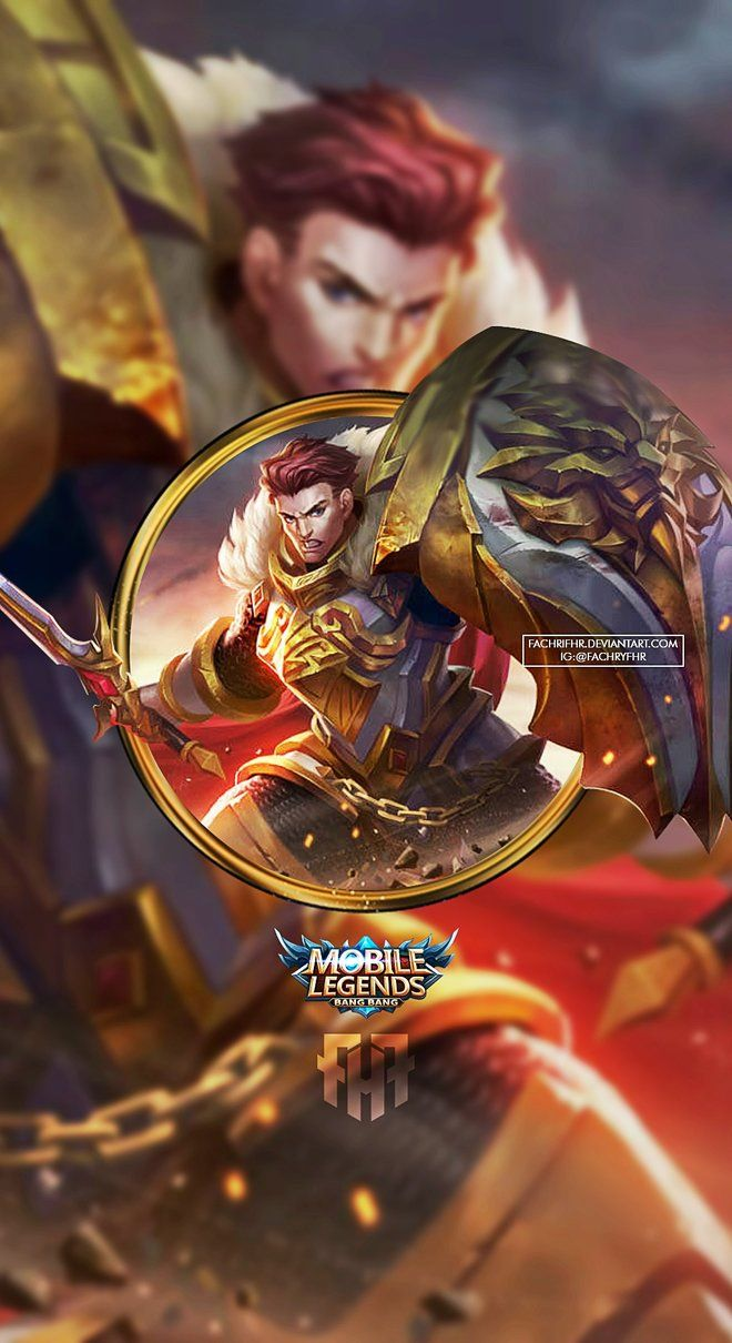 Wallpaper Phone Tigreal Warrior of Dawn by FachriFHR Mobile 660x1210