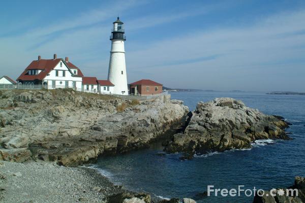 Maine Lighthouse Wallpaper - WallpaperSafari