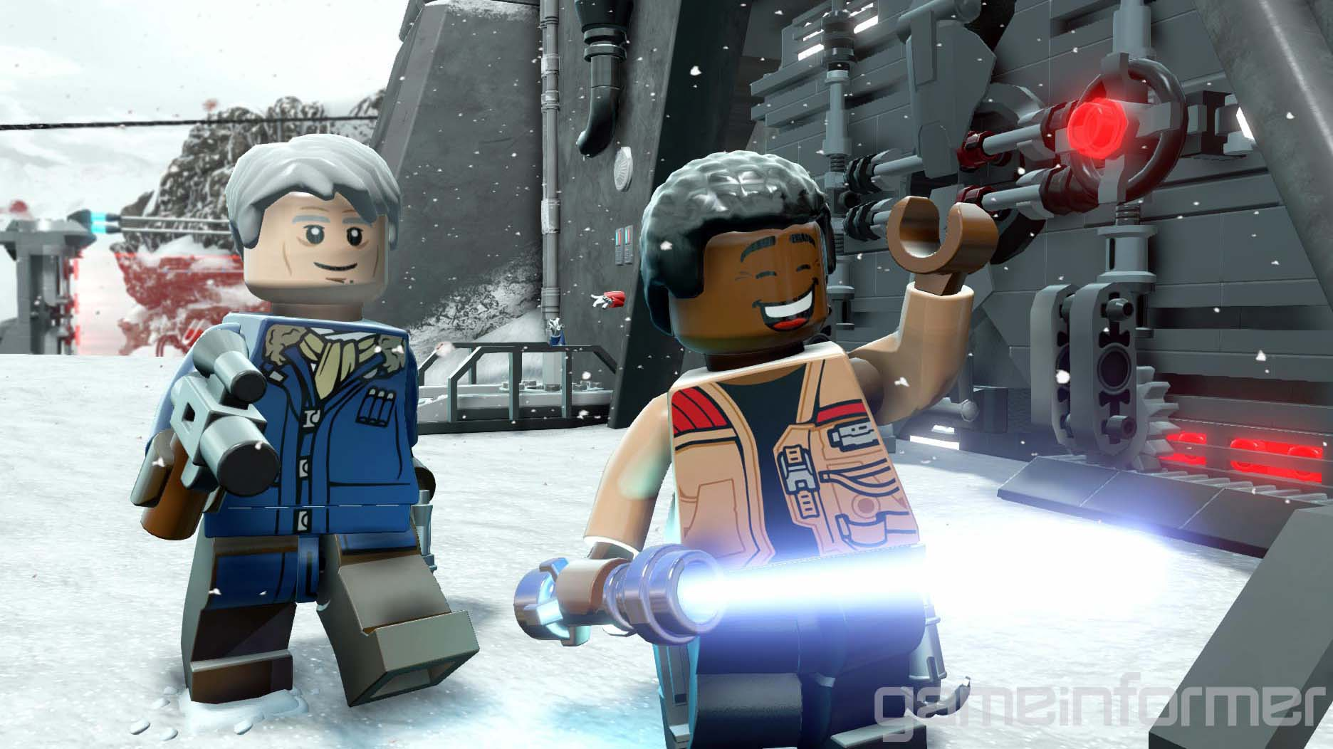 Lego Star Wars The Force Awakens 2016 Wallpapers 4K 1872x1052