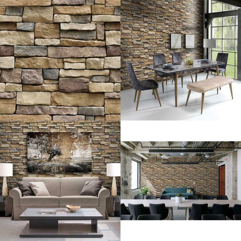 Stone Peel And Stick Wallpaper   Self Adhesive Wallpaper   Use As 800x800