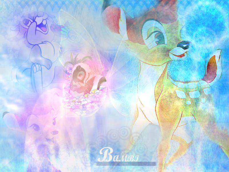 fanarts wallpapers bambi 1 fanarts wallpapers bambi 2 800x600