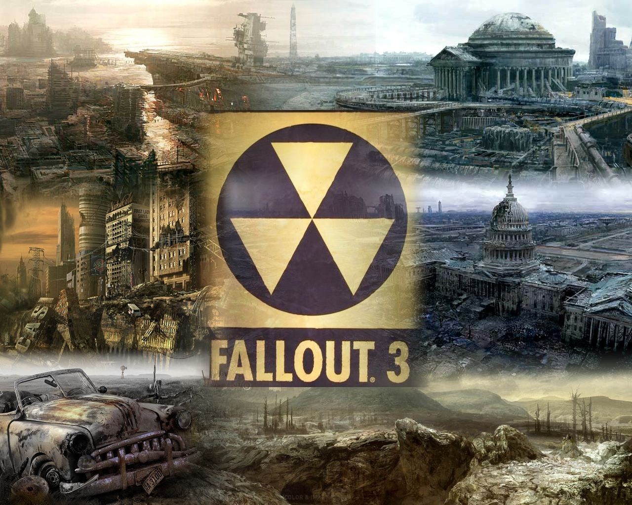 Fallout 3 wallpaper hd wallpapersafari fallout 3 wallpaper hd submited images 1280x1024 altavistaventures Gallery