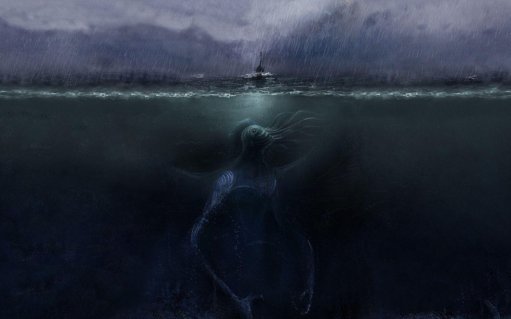 Sea Monster Wallpapers 1680x1050
