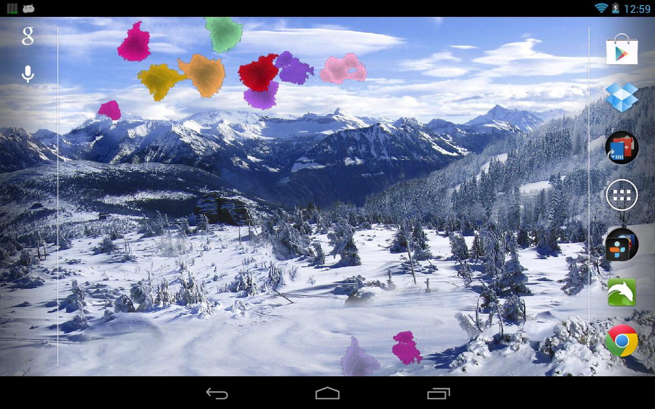 Google winter wallpaper and screensavers wallpapersafari for Sfondi invernali desktop