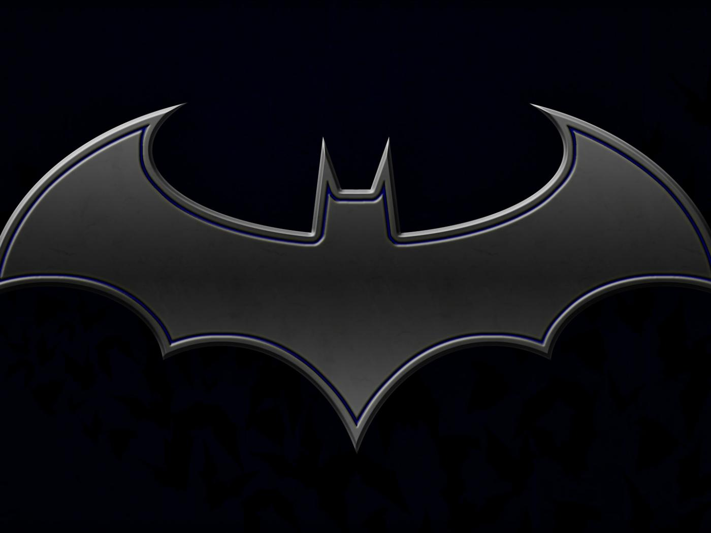 batman logo hd wallpaper   Background Wallpapers for your 1400x1050