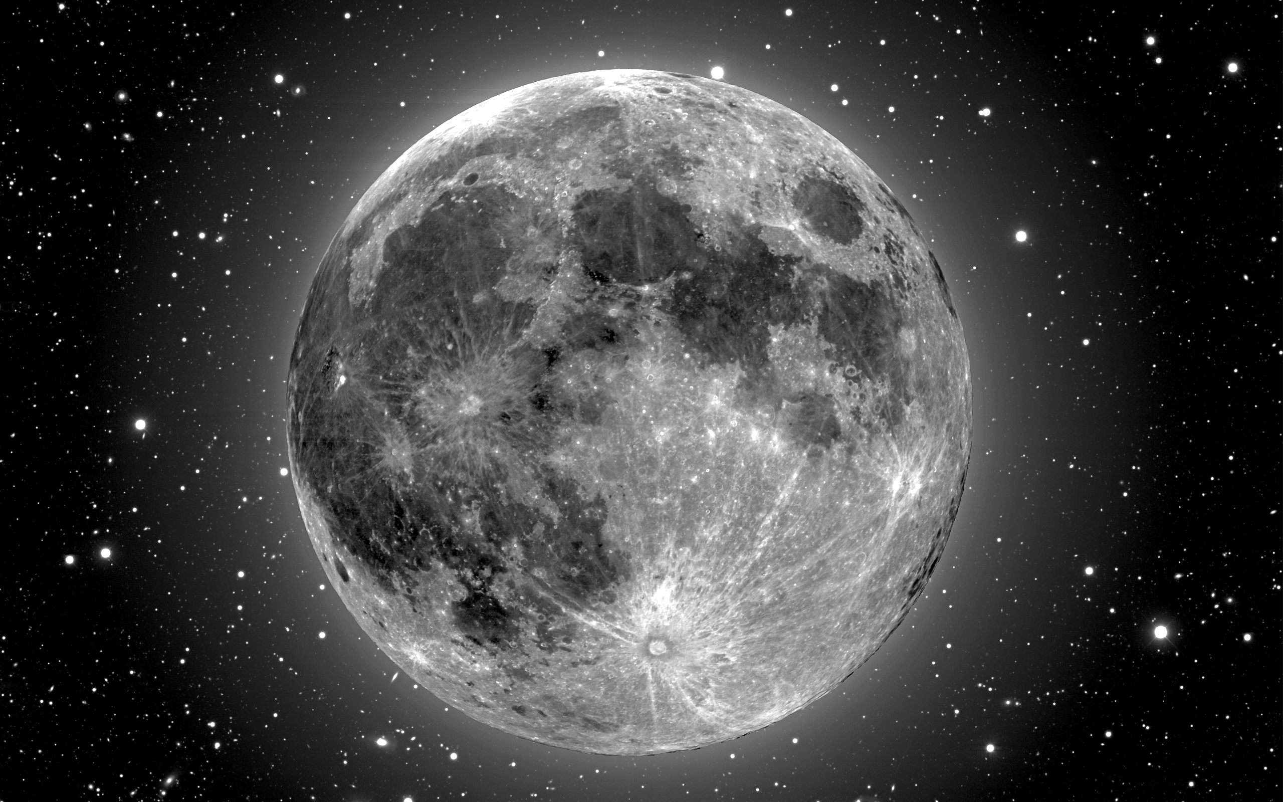 323 Moon HD Wallpapers Background Images 2560x1600