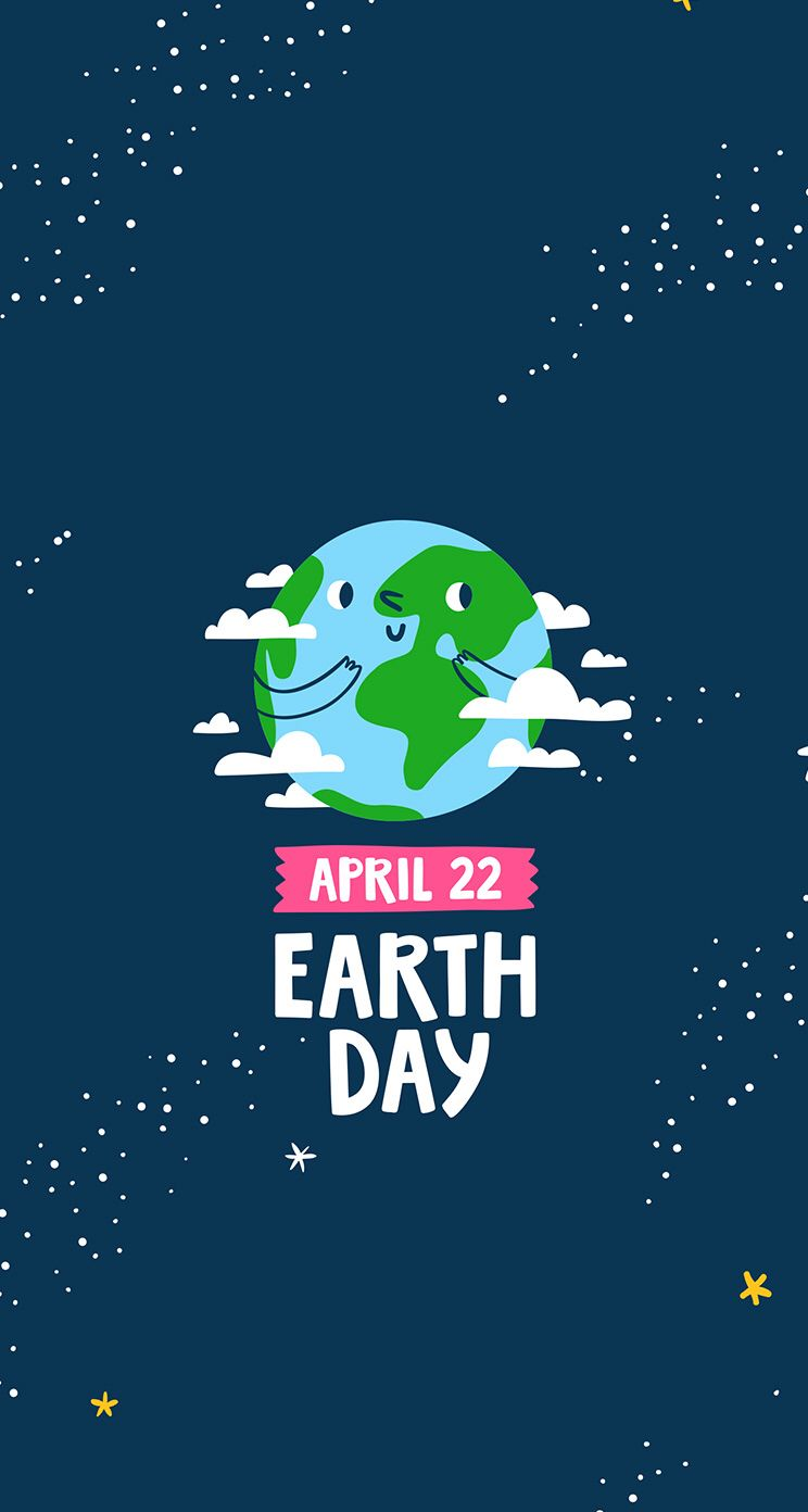 Pin by Ariana Grande on Walltpapers Cartoon Earth day Iphone 744x1392