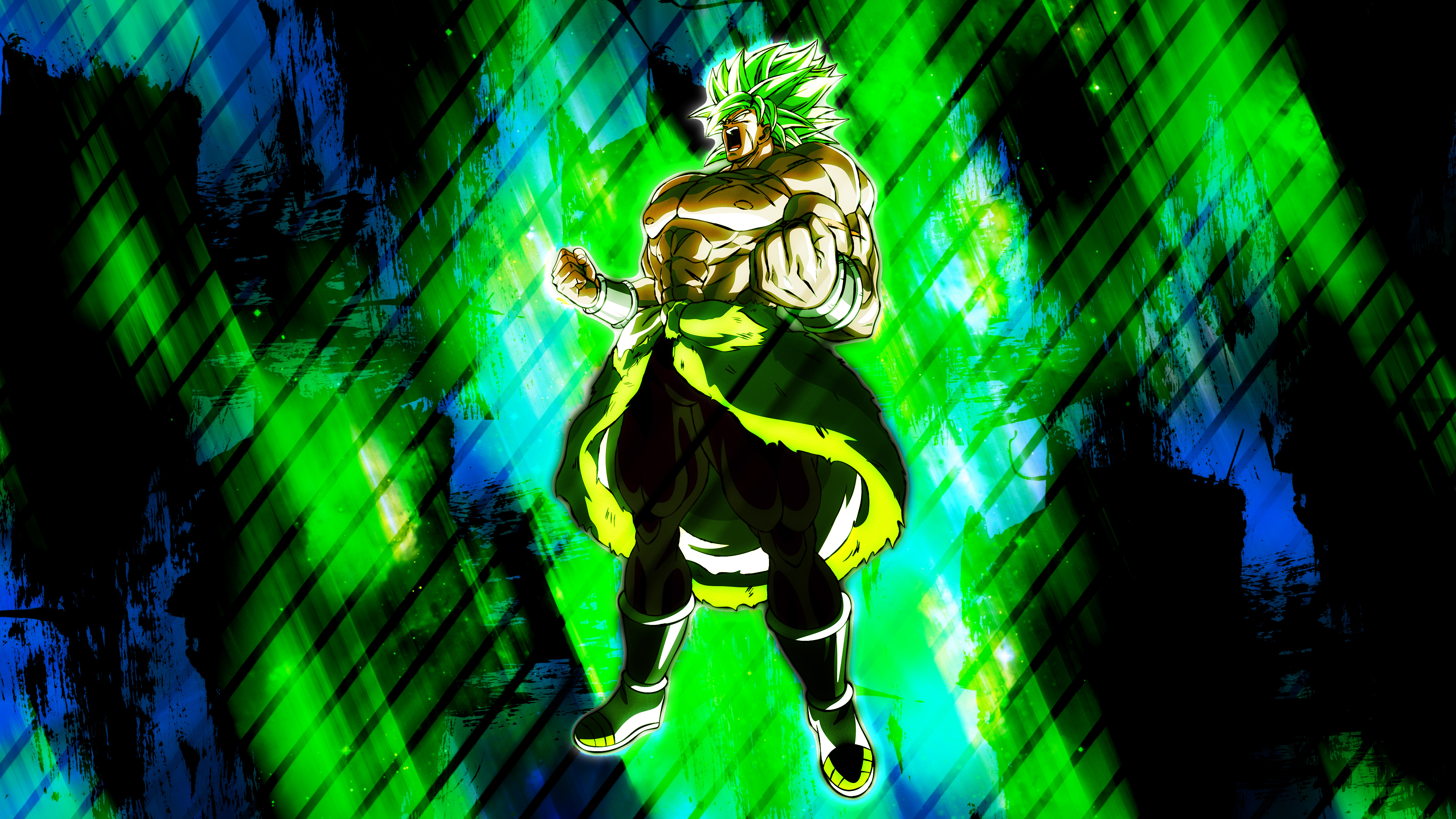 Unstoppable Broly 4K Wallpaper HD Anime 4K Wallpapers Images 3840x2160