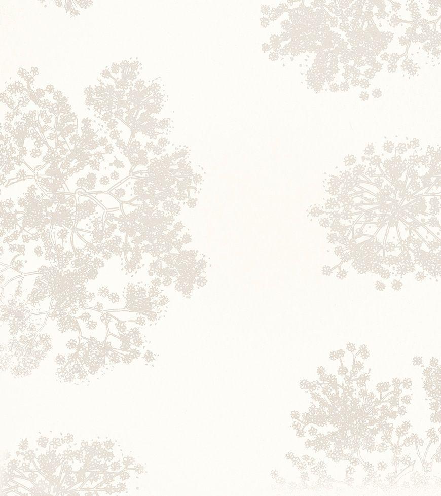 Laura Ashley wallpaper STD WP GYPSOPHILA WHITE Wallpapers 870x978