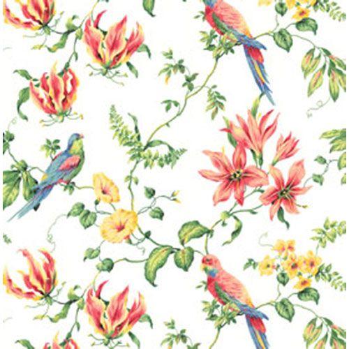 The Sea Tropical Bird Wallpaper York Wallcoverings Wallpaper Wall 500x500