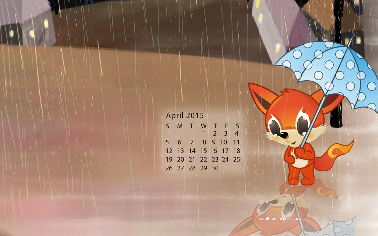 April 2015 Calendar Wallpaper 1 1280x800
