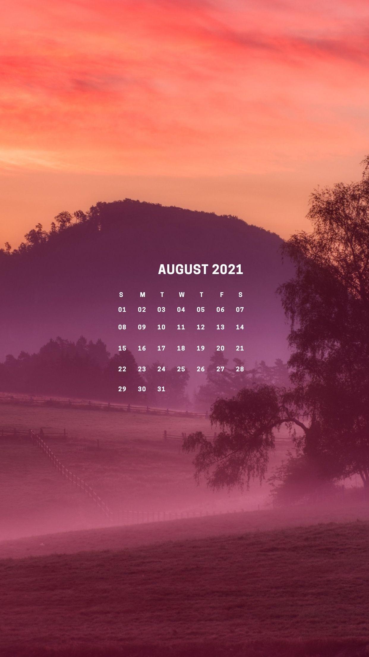August 2021 Calendar   wishes db 1242x2208