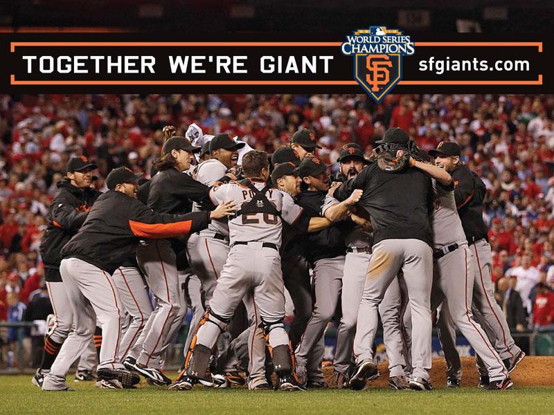 San Francisco Giants Stadium Wallpaper: World Series Wallpaper