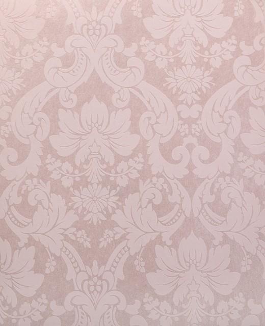 Damask Wallpaper Pink   Traditional   Wallpaper   by Wallpaper 520x640