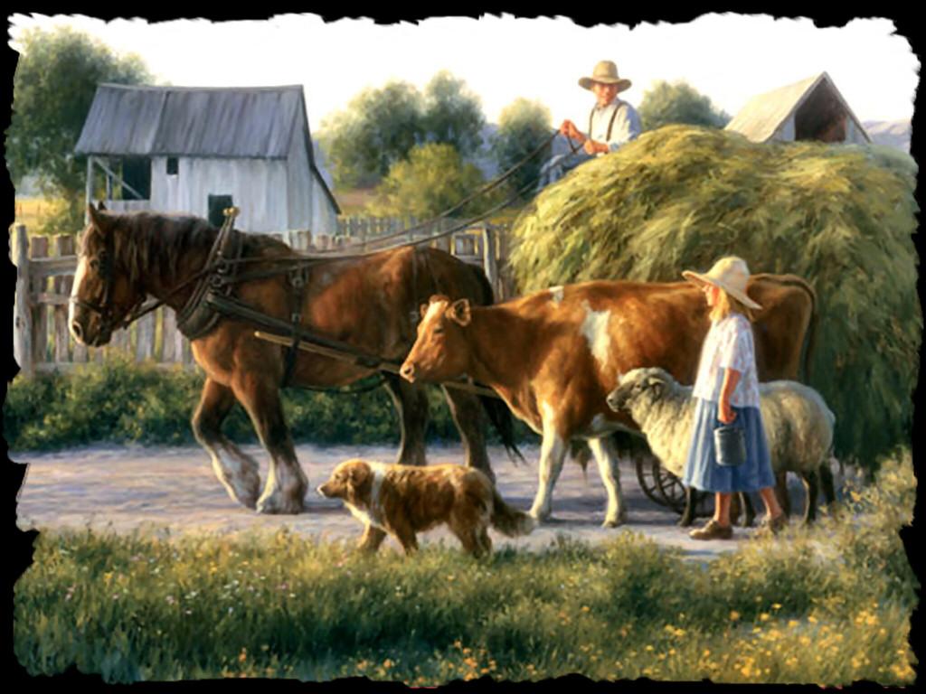 Horse ranch wallpaper wallpapersafari for Horse farm