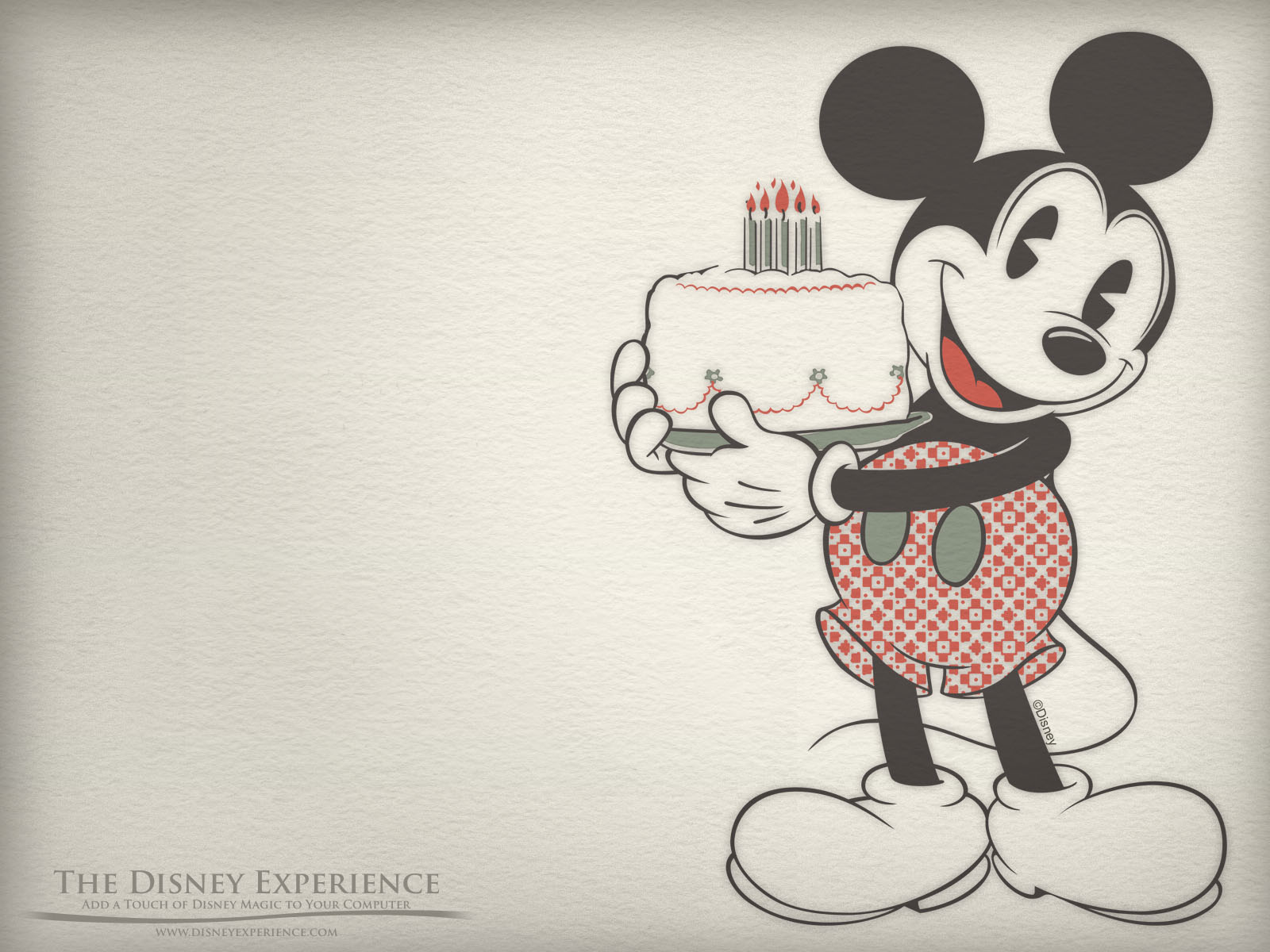 Mickey Mouse Birthday Wallpaper WallpaperSafari – Disney Birthday Cards