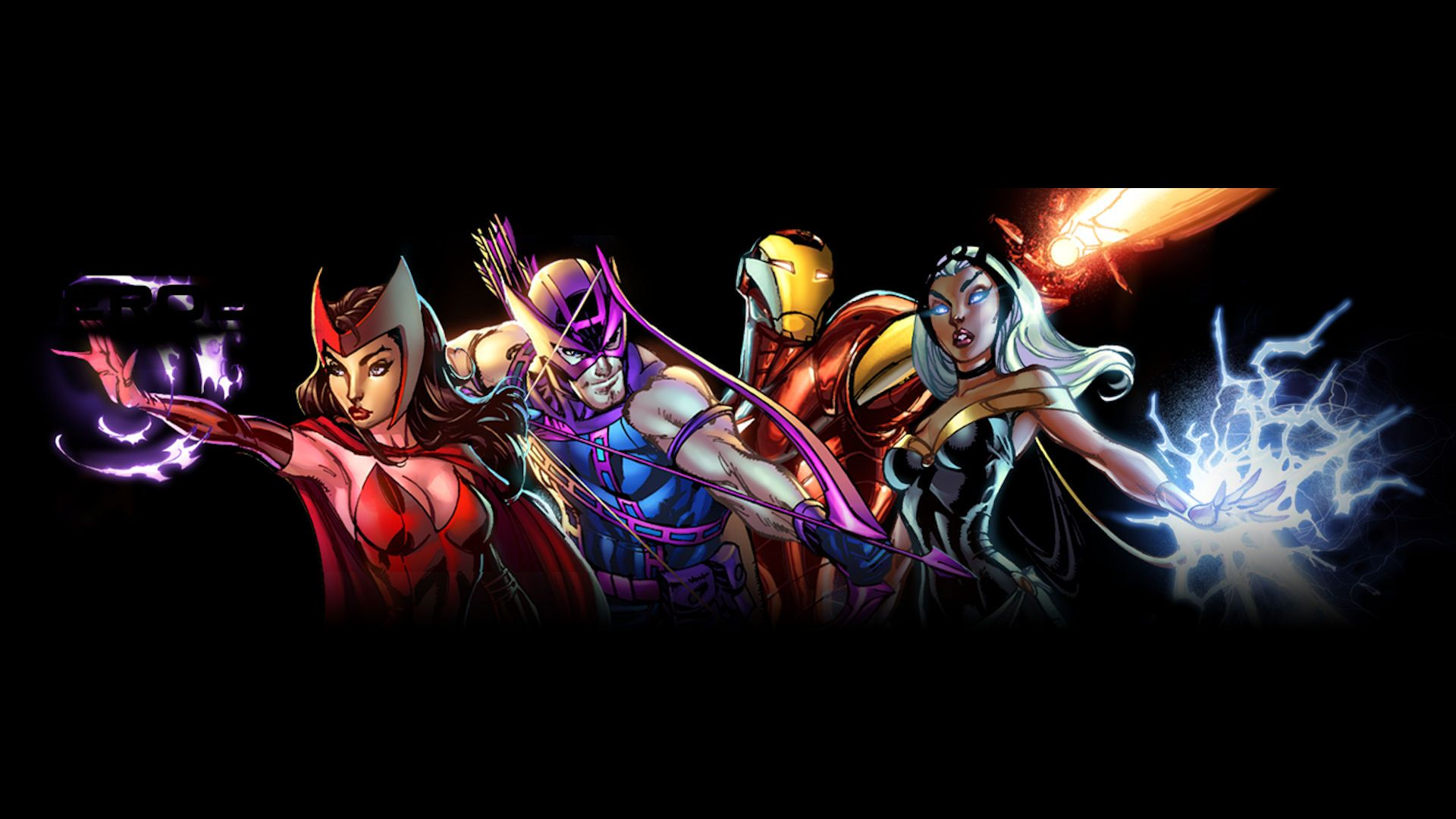 Marvel heroes wallpaper wallpapersafari - All marvel heroes wallpaper ...
