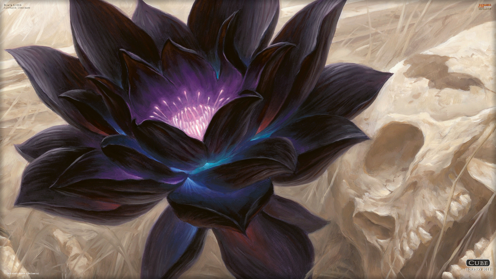 Wallpaper of the Day Black Lotus Daily MTG Magic The Gathering 1920x1080